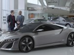 2015 Acura NSX Hybrid Super Bowl Ad So Popular, It Crashed Acura's Website