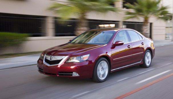 2009 acura rl review ratings specs prices and photos. Black Bedroom Furniture Sets. Home Design Ideas