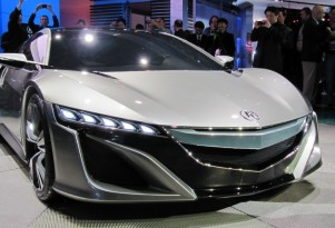 2014 Acura NSX Hybrid Supercar: Will Debut January In Detroit