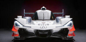 Acura ARX-05 prototype race car