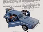 Ad for 1972 Levi's AMC Gremlin