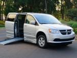 Adaptive equipment - ramp on Dodge Grand Caravan