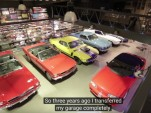 Adelbert Engler's massive Ford Mustang collection.
