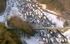 Atlanta Weather Turns Nation's Worst Traffic Into Zombie Carpocalypse