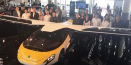 AeroMobil flying car, 2017 Top Marques Monaco
