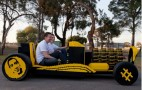 Crowdfunded Full-Size Lego Hot Rod Runs On Air: Video