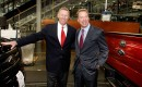 Alan Mulally and Bill Ford Jr.