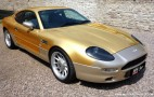 Gold plated Aston Martin up for sale