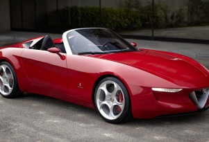 Alfa Romeo 2uettottanta Concept By Pininfarina