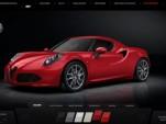 Alfa Romeo 4C configurator
