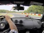 Alfa Romeo 4C nurburgring run