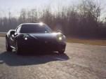 Alfa Romeo 4C on track