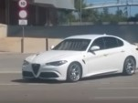 Alfa Romeo Giulia spotted on the streets