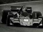 Alfa Romeo-Powered Brabham At Watkins Glen In 1977
