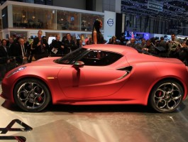 2011 Alfa Romeo 4C Concept live photos