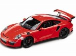 Alleged 2015 Porsche 911 GT3 RS scale model (Image via 4WheelsNews)
