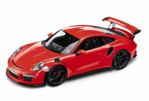Alleged 2015 Porsche 911 GT3 RS scale model (Image via 4WheelsNews)