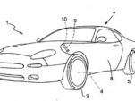 Alleged Ferrari vertical door patent