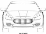 Alleged patent drawings for 2014 Maserati Quattroporte