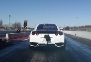 Alpha G Nissan GT-R sets new quarter-mile record