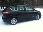 2013 Ford C-Max Energi plug-in hybrid in Massachusetts winter [photo: John Mitchell]