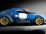 Amalgam New Stratos GT2 race car model