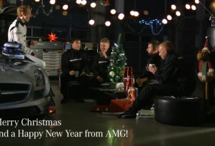 AMG's technical staff celebrate Christmas