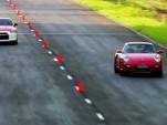 AMS Alpha 12 Nissan GT-R versus Protomotive Porsche 911 Turbo in the mile drag race