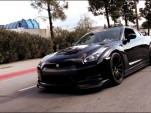 An 800 horsepower 2010 Nissan GT-R, built by SP Engineering.