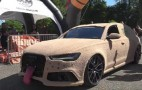 """Someone turned an Audi RS 6 into the """"Dumb and Dumber"""" Mutt Cutts van"""
