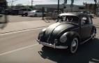 Original Volkswagen Beetle stops by 'Jay Leno's Garage'