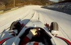 Andy Gülden Shreds The 'Ring...On Ice And Snow...In A Formula Car