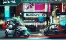 Anej Kostrevic's winning design entry, the Domino's Pack