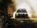 Antoine L'Estage &amp; Nathalie Richard crash at Rally America