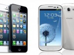 Apple iPhone 5 and Samsung Galaxy S3