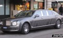ArmorTech stretched Bentley Mulsanne