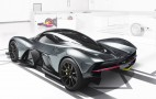 AM-RB 001 track model could develop 4,000 lb downforce, 4 g cornering force