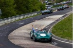 Aston Martin centenary drive at the Nrburgring