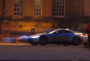 Aston Martin DB10 On Set Of Bond Film