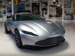 Aston Martin DB10 visits Jay Leno's Garage