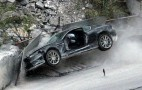 Aston Martin DBS Crashed For New James Bond Movie
