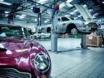 Aston Martin Heritage Showroom in Newport Pagnell, U.K.