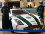Aston Martin One-77 police car - Image: Dubai Police