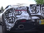Aston Martin prototype testing a twin-turbo V-8 from AMG