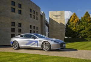 Aston Martin Rapide luxury sedan to go all-electric; cheerio, V-12!