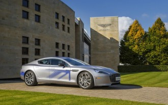 Aston Martin RapidE Electric Car Will Be Co-Developed With Faraday Future Sibling