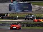 Aston Martin V8 Vantage vs. Porsche 911 Carrera S vs. Jaguar F-Type