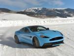 Aston Martin Vanquish On Ice
