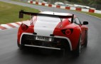 Aston Martin V12 Zagato Tears Up The Track: Video
