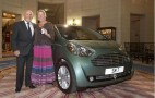 Stirling Moss Buys Aston Martin Cygnet